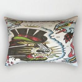 3 panthers Rectangular Pillow