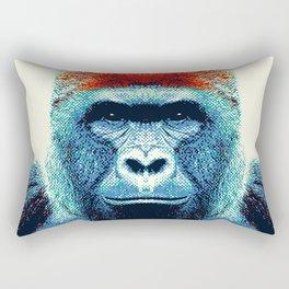 Gorilla -  Colorful Animals Rectangular Pillow