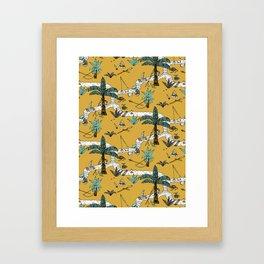 River Children Framed Art Print