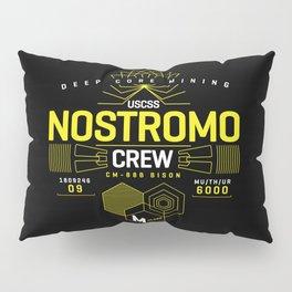 Nostromo Crew - Aliens Ripley Spaceship Pillow Sham
