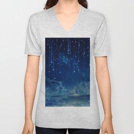 Falling stars I Unisex V-Neck