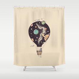 Interstellar Journey Shower Curtain