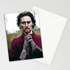 Henry V praying Stationery Cards