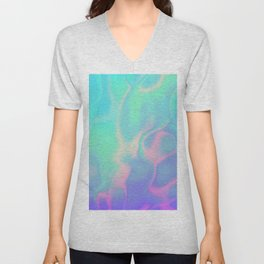 Rainbow Sea Unisex V-Neck