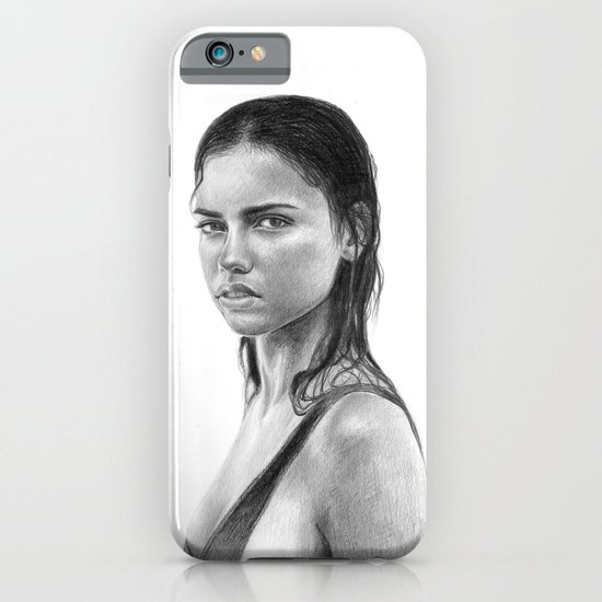 Adriana Lima iPhone & iPod Case