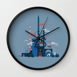 Myth & Legend Wall Clock
