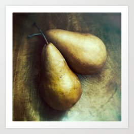 Florentine Fruit - Bosc Pears Still Life Art Print