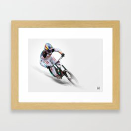 Loic Bruni II Framed Art Print