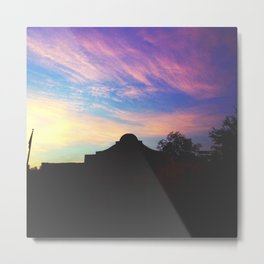 Lonesome in San Antone. Metal Print