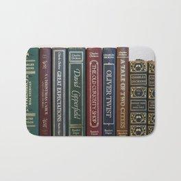 Dickens Books Bath Mat
