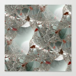 Tangled in the fractal mist Canvas Print