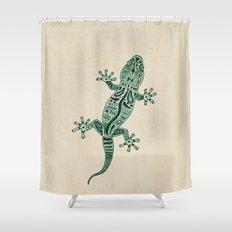Ornate Lizard Shower Curtain
