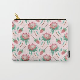 Pink Proteas Carry-All Pouch