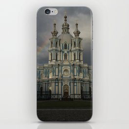 Postcards from Petersburg - Smolny Cathedal iPhone Skin