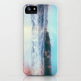 California Sunshine Waves iPhone Case