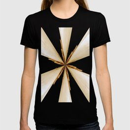 Black, White and Gold Star T-shirt