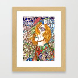 Pattern Heaven Framed Art Print