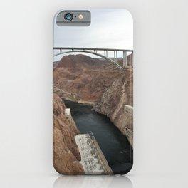 Lake Mead Spillway And Memorial Bridge iPhone Case