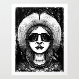 Mono Glasses IV Art Print