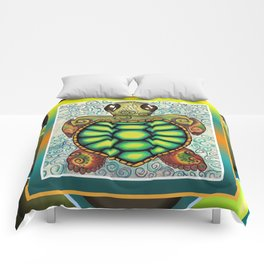 Baby Sea Turtle Comforters