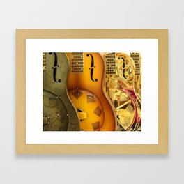 Guitar Trio Framed Art Print