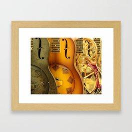 Guitar Trio Framed Art Print