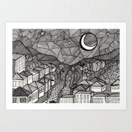 Nightview Art Print