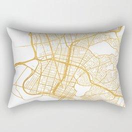 OAKLAND CALIFORNIA CITY STREET MAP ART Rectangular Pillow