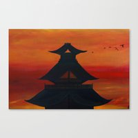"""asia Canvas Prints featuring """"Asia"""" by Artstudiobyona"""