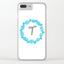 T White Clear iPhone Case