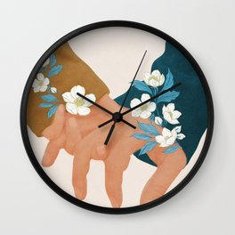 In Love I Wall Clock