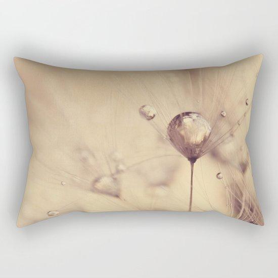 dandelion gold Rectangular Pillow