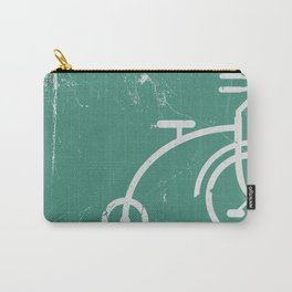 Grunge bicycle Carry-All Pouch