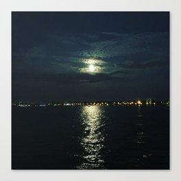 Super Full Moon Canvas Print
