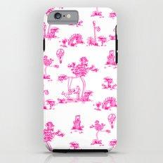 Pink Toile Unicorn iPhone 6 Tough Case