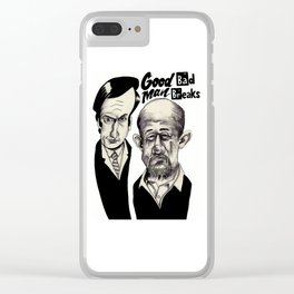 Good Man, Bad Breaks Clear iPhone Case