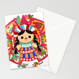 Maria 6 (Mexican Doll) Stationery Cards