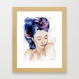 Between the sheets Framed Art Print