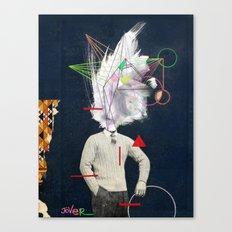 the designer Canvas Print