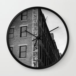 Rubber Company Wall Clock