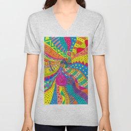 Life in Colors Unisex V-Neck