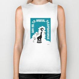 Say NO to Animal Performance - Seal Biker Tank
