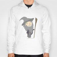 gandalf Hoodies featuring Gandalf the grey by Rod Perich