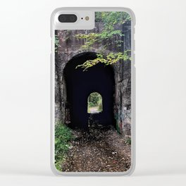 The Screaming Tunnel Clear iPhone Case