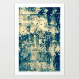 Abstract Grunge Art Print