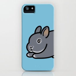 Netherland Dwarf Bunny Loaf iPhone Case