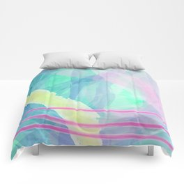 Think of summer sky Comforters