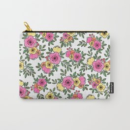 Spring Bunch Watercolor Carry-All Pouch