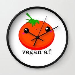 Sweet Baby Vegan Af Wall Clock