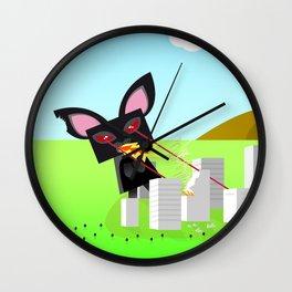 Kitty Destruction Limited Wall Clock